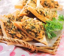 画像:高野豆腐のえびパン