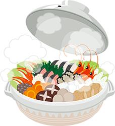 画像:温かい鍋