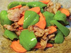 画像:牛肉とbig野菜のオイスターソース炒め